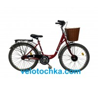 """Электровелосипед Ardis Lido 26"""" 36V 350W MXUS Red"""