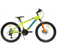 "Leader Junior 24"" (lime/blue)"