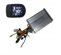 Контроллер KSL 36V-48V 450W - 600W 23A с LCD дисплеем