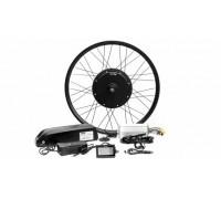 Электро набор 350W 36v с LCD дисплеем для велосипеда с акб 48v 10.4 ач, Pas, газ