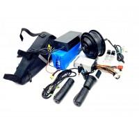 Электро набор 350W 36v для велосипеда с акб 48v 10.4 ач, Pas, газ