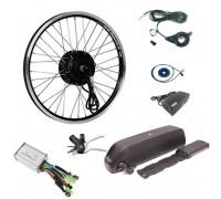 Электро набор 350W 36v для велосипеда с акб 36v 10.4 ач, Pas, газ
