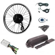 Электро набор для велосипеда MXUS+ 500w акб 15Ач, Pas, газ, контроллер