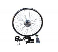 Электронабор для велосипеда с редукторным мотор-колесом 350 W