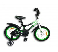 "Leader Lion 16"" black-green"