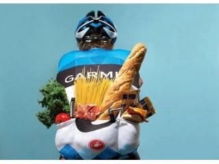 Приготовление еды в велопоходе.