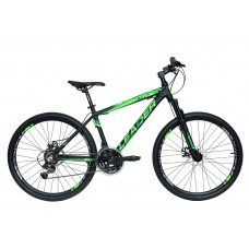 "Leader Sweed 26"" (black/green)"